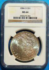 1884 O Morgan Dollar MS 64- NCG - Free Shipping - 90% Silver