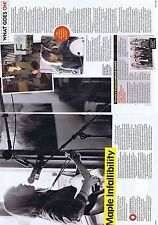 Maple Feist original 2 page magazine clipping