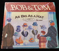 Bob and Tom As Big As A Hat 3 CD & 1 DVD 2008 set NEW! (shrink wrap worn)