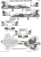 Berna Decals 1/72 DASSAULT MIRAGE 2000C 5th Escadrille