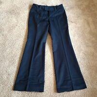 Banana Republic Martin Fit Stretch Dress Pants Blue Women's Size 4
