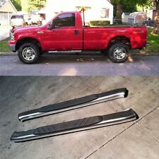 """For 04-14 Ford F150 Regular Cab Aluminum Nerf Bars Side Step OE Style 5"""" Oval"""