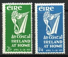 IRELAND SG154/5 1952 AN TOSTAL FESTIVAL MTD MINT