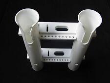New white 2 link rod holder socket plastic PP materials suitable for boat