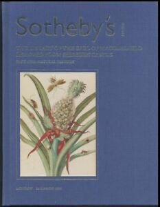 Sotheby's London, complete set The Library of the Earl of Macclesfield