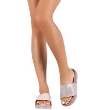 3ae5c49d6ad4b3 Rhinestones Slides Sandals for Women