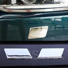 x2 ROYAL CHROME Headlight Washer Caps for Jaguar XE X760 15-ON