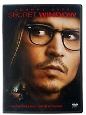 Secret Window (DVD, 2004) Widescreen: Starring Johnny Depp