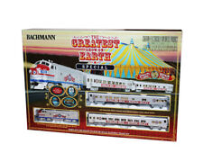 Bachmann Trains 749 HO Scale Ready to Run Train Set Ringling Bros. & Barnum & Ba