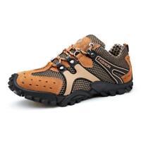 Mens Hiking Trail Trekking Shoes Fashion Outdoor Sneaker Climbing Mountain Shoes