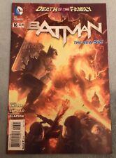 BATMAN #16 DEATH OF THE FAMILY 1:25 Alex GARNER VARIANT RARE!!