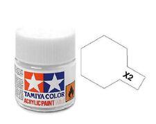 Tamiya 81502 X2 White 10ml Acrylic Paint Gloss Color Mini Bottle X-2 Model