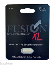 Fusion XL Male Enhancement Pill and Libido booster Sex Pill Long Hard Erections