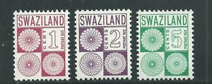 Swaziland Scott # J10-J12 MNH Postage Dues