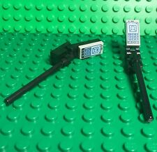 Lego X2 New MOC Mini Figures Handheld Selfie Stick With Smartphone / Cellphone