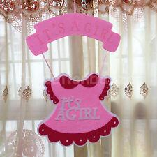 It Is A Girl Pink Baby Shower Skirt Shape Hanging Foam Boy Centerpiece Decor