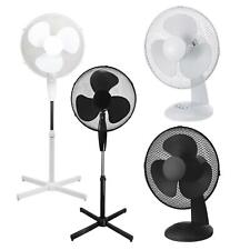 ASAB Desktop Desk Fan Portable Air Cooler 2 Speed Tilt Adjustable Home Office
