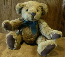 """Russ Berrie #9112 CHADFIELD, VINTAGE COLLECTION 13"""" Teddy Bear From Retail Store"""