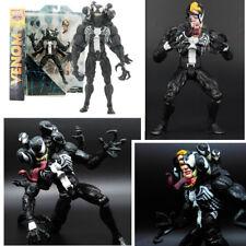 20cm Marvel VENOM Interchangeable heads Spider-Man Villain Action Figure toy UK