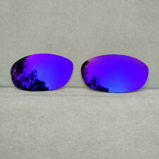 Purple Mirrored Replacement Lenses for-Oakley Fives 2.0 Sunglasses Polarized