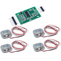 4 X 50KG Body Load Cell Weight Scales Sensor With HX711 Sensor Arduino PI G9CA