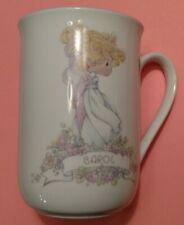 Precious Moments Personalized Mug- Carol by Samuel Butcher 1989 Cup w/ Box