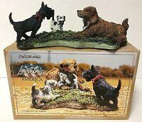 Ertl Lowell Davis America Limited Edition 'A Friend In Need' Dog Figurine 2525