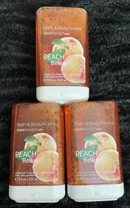 Lot Of (3) - Bath & Body Works PEACH BELLINI SmartSoap Foaming Hand Soap Refill
