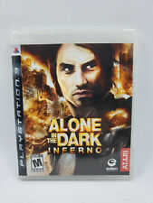 Alone in the dark inferno sony playstation 3 Ps3, teste & works, Free Shipping