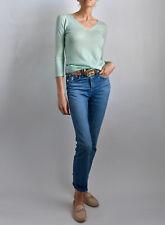 M-A-G Cashmere & Silk Aqua Woman's Sweater XS