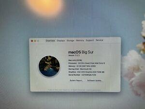 Apple Mac mini Desktop - MRTR2B/A (October, 2018) i3 32GB Ram 128GB SSD