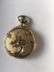 Sehr schönes Medaillon, 585 Gold