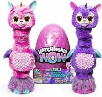"HATCHIMALS WOW Llalacorn 32""(81.3cm)Interactive Hatchimal with Re-Hatchable Egg"
