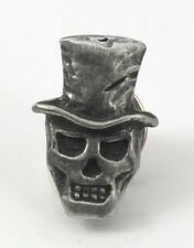 English Pewter Baron Samedi Hand Crafted Tie Pin / Lapel Badge 12953