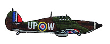 Hawker Hurricane Mk I Cut Out Small Embroidered Patch - LAST FEW