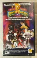 Mighty Morph'N Power Rangers (Series 2 - Vol 3) VHS 1995 Saban / PolyGram Video