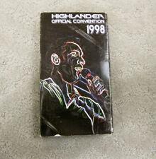 Highlander Official Convention 1998 (VHS)