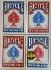 4 Decks Bicycle US Standard Playing Cards Trusted Poker Card Made in USA 2015
