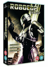 ROBOCOP TRILOGY DVD Belinda Bauer Ronny Cox Rip Torn Fred Dekker UK Rele New R2