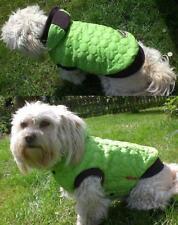 Ausverkauf! Hunde Schneemantel mit Kapuze Gr.M 27-33cm Umfang bis45cm Apfelgrün