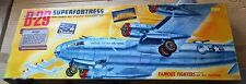 VINTAGE [1954] AURORA BOEING B-29 SUPERFORTRESS 1/76 w RARE CEMENT & REPR DECALS