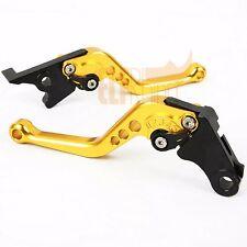 For HONDA CBR500R/CB500F/X 2013-2015 14 CNC Clutch Brake Levers Gold Short Size