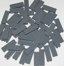 LEGO LOT OF 50 DARK GREY 1 X 2 X 5 PILLARS BUILDING BLOCKS PIECES