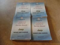 2008 Jeep Patriot and Compass Factory Service Manuals Manual OEM COMPLETE SET!!