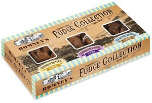 300g Romney's Kendal Hand Made Traditional Butter Fudge Selection Box  3 x 100g