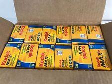 Kodak Max Versatility Polyvalence 400 Film Lot of 24 Exp 2007