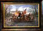 Jon McNaughton Framed Political Art Print President Trump Crossing the Swamp