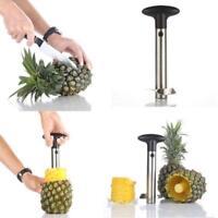 Hot Pineapple Corer Slicer Peeler Cutter Fruit Tool Gadget Stainless Steel Easy