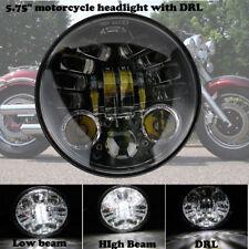 """5-3/4"""" Moto 6000K LED Phare Daymaker Projecteur DRL Headlight Pour Harley Honda"""