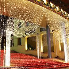fairy lights ebay uk. 3mx3m 300led warm white string curtain light xmas home living room decor lamp uk fairy lights ebay uk d